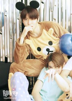 Jaehyun and Taeyong #SMROOKIES I dont know who I like Jaehyun or that Rilakkumaaaa