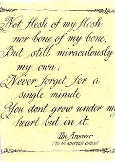 1000 images about adoption poetry on pinterest i choose