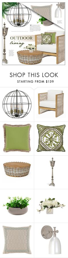 Outdoors by kathykuohome on Polyvore featuring interior, interiors, interior design, home, home decor, interior decorating, Talli, homedecor, outdoors and outdoorliving