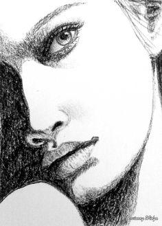 Charcoal sketch 251213 @Novianny Widya
