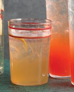 Whiskey lemonade. What I've been drinking all day on this 75-degree Midwestern day in March.