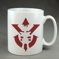 super saiyan mug, saiyan coffee mug, dragon ball mug, ceramic,  two sided mug