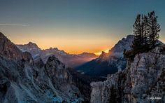 Tre cime di Lavaredo, piano di Longeres, Dolomiti.