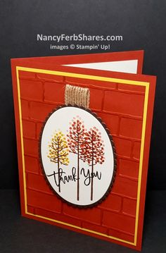 Thoughtful Branches for FALL by stampur - Cards and Paper Crafts at…