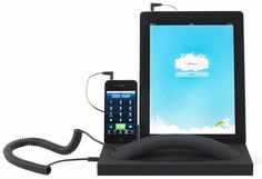 MM02T Stand - For iPad/iPhone/Smartphone with handset