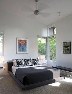 modern bedroom by Webber + Studio, Architects