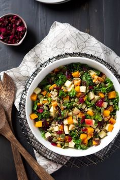 Fall Harvest Salad with Cider Vinaigrette | Community Post: 21 Drool-Worthy Winter Squash Dishes You Need To Try