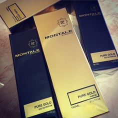 Montale Pure Gold Perfume