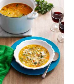 Minestrone Alla Milanese Recipe - Best Home Chef #dinner #italian #entree #lunch #soup