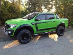 Check this out! I honestly adore this finish color for this Custom Trucks, Cool Trucks, Pickup Trucks, Ford Rapter, Ford 4x4, Ford Lincoln Mercury, Pick Up, Custom Ford Ranger, Hummer Truck