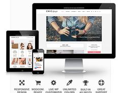 "Check out new work on my @Behance portfolio: ""Chic Responsive Blog & WooCommerce WordPress Theme "" http://on.be.net/1IBe0Tg"