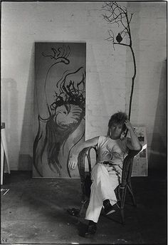 Brett Whiteley  His amazing talent was introduced to me in grade 11 - I have not lost my love for his art - fantastic......