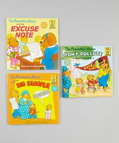 Take a look at this Berenstain Bears Don't Pollute Paperback Set by The Berenstain Bears on #zulily today!