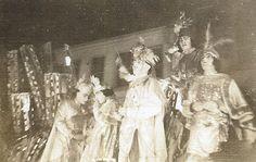 Mardi Gras parade Mobile Ala 1940 by rosathorns, via Flickr