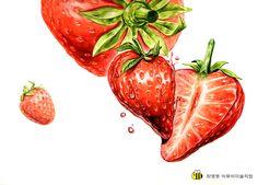 Fruit Art, Copic Markers, Drawings, Nature, Painting, Beautiful, Design, Tattoo Ideas, Naturaleza