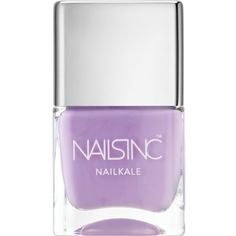 NAILS INC NailKale nail polish ($20) ❤ liked on Polyvore featuring beauty products, nail care, nail polish, makeup, beauty, nails, esmalte, nails inc. and nails inc nail polish