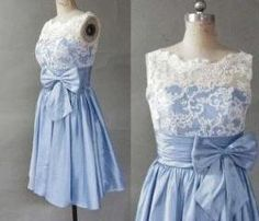 Hot Sales White Lace Blue Taffeta Short Prom Dress,High Neck Back V Cocktail Dresses,Knee Length Ball Gown Dress,Short Bridesmaid Dresses by Adeledresses Pretty Homecoming Dresses, Lace Homecoming Dresses, Best Prom Dresses, Dresses Short, Short Bridesmaid Dresses, Knee Length Dresses, Semi Dresses, Ball Gown Dresses, Diy Dress