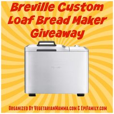 Breville Custom Loaf Bread Maker Giveaway featuring My Life With Food Allergy Bloggers!