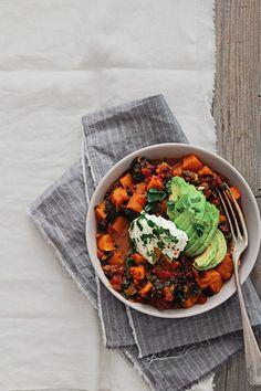 #RecipeSaviours: Sweet Potato Stew With Spinach, Squash and Avocado - secret saviours
