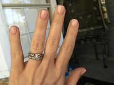 """OPI  """"Bubble Bath"""" My go to for sheer/natural I used this color on my wedding day"""