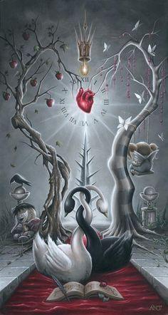 Artist Spotlight: The Grim Dark Artwork of Anthony Clarkson Dark Fantasy Art, Fantasy Kunst, Art And Illustration, Art Sombre, Art Visionnaire, Dark Artwork, Pop Surrealism, Visionary Art, Gothic Art