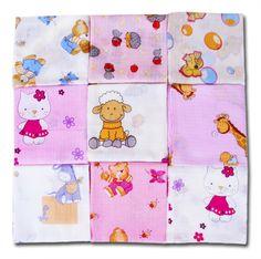 Mullwindeln Girl MIX Spucktücher für Mädchen 60/80 5er Pack: Amazon.de: Baby