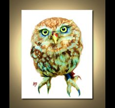 Owl Art Print Owl Print Owl Painting by ScottieInspired Owl Illustration, Illustrations, Owl Bags, Owl Pictures, Or Mat, Beautiful Owl, Owl Print, Cute Owl, Bird Art