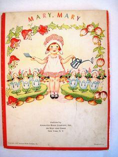 Animated Book Co. Inc. 1943 '' Mother Goose Magic Window'', ill. Hank Hart | eBay