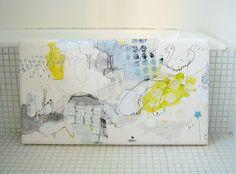 Yubune ni kumo wo ukabete miru (2010) Oil on canvas, ink, … | Flickr