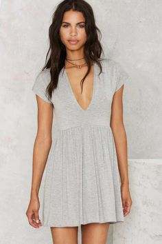 Nasty Gal Mad Tee Party Dress - Designed By Us