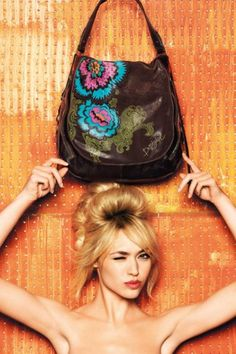 Desigual Shopping Embossed Bag
