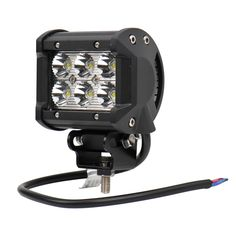 "33.82$  Watch now - ""18W 4"""" inch LED Work Light Lamp 6000K Spot beam white spotlight for Motorcycle Boat Off Road 4WD 4X4 Truck SUV ATV Spot 12V-24V""  #buymethat"