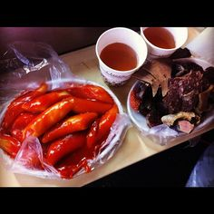What I really would like to eat on a cold day :(  Missing me some Korean street vendor food!!!