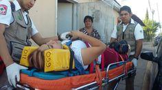 Deja tres lesionados leves volcadura en la colonia Villa Juárez | El Puntero