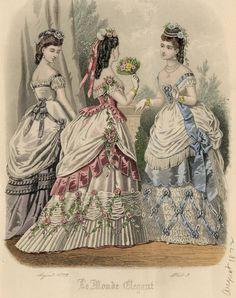 Le Monde Elégant 1872