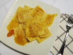 Tortelli di Zucca con Soffritto al Lardo ricetta