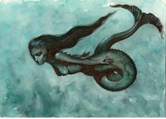 """The Black Mermaid of Bali"" by homelyvillain"