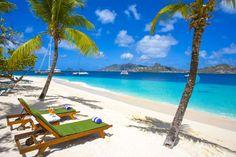 Palm Island Resort Beach - The Grenadines via Travel 2 the Caribbean Blog
