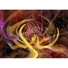 Golden Dynamic by John Robert Beck. This art was created in 2011. Golden Dynamic is an abstract art. The gold shapes in the center are the perfect counterpoint to the reds and the other deep rich colors.
