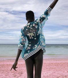 coleção pharrell Williams para adidas pink beach moda estilo