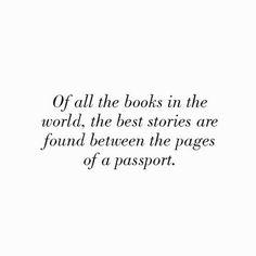 Imagem de quote, passport, and book