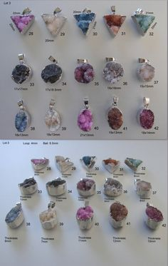 Dyed Natural Druzy Agate Pendants with brass Silver plated Round, Square, Oval, Triangle, drusy style. All sizes shown on pictures. Druzy Jewelry, Selling Jewelry, I Fall In Love, Silver Plate, Agate, Triangle, Jewelry Making, Pendants, Necklaces