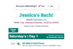 @Destination I Do Magazine - Destination Weddings & Honeymoon Travel  features bachelorette party planning site @The Bach