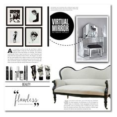 """""""Make up room"""" by dolly-valkyrie ❤ liked on Polyvore featuring interior, interiors, interior design, home, home decor, interior decorating, Eichholtz, Ray-Ban, Bobbi Brown Cosmetics and Aesop"""