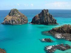 It's not Bora Bora, but it is Brazil!!! Because paradise is not necessarily that far! (Fernando de Noronha).