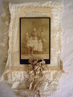 "Page for Beth's book in ""Her Life In Stitches"" by skblanks, via Flickr"
