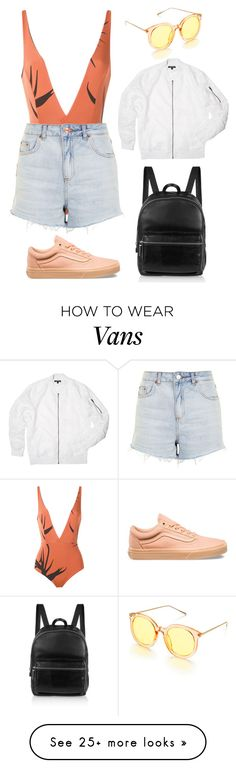 """Untitled #76"" by vitoriaeinert on Polyvore featuring Haight, Topshop, Vans and Elizabeth and James"