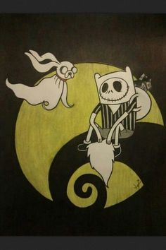 Adventure time tim burton style