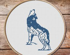 Bear Cross Stitch Pattern Bear keeper of the by MyFunnyStitches1