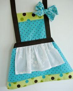 Child Apron Sewing Pattern - Three Sizes - PDF ePattern. $4.99, via Etsy.